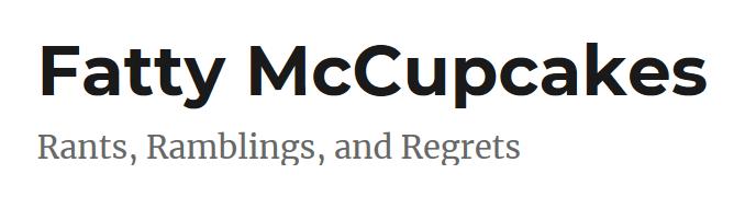 Fatty McCupcakes